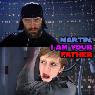 A show where 7-year-old Martin enlightens his father about the intricacies of Star Wars, one subject at a time.