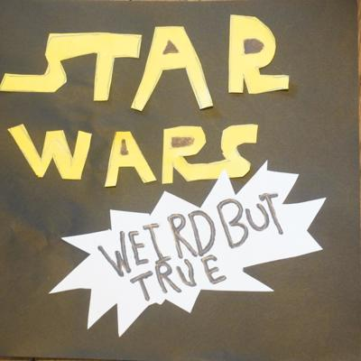 STAR WARS Weird but True is a podcast featuring David Brookes and Sarah Grubb where they discuss really cool, and TOTALLY INSANE facts about STAR WARS. They search the galaxy for strange items, people, creatures, places, and much, much more. It also features made-up commercials in each episode, and some fun music.