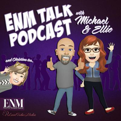 Let's talk about everything related to ENM (Ethical Non-Monogamy)! From Swinging to Polyamory, current events, and lifestyle tips Michael and Ellie and their Love Tribe will talk about it all!  We will regularly discuss articles and features from our magazine publication, ENM Magazine, personal interviews with real people who are in the ENM Lifestyle and more.  Support this podcast: https://anchor.fm/enmtalkpodcast/support