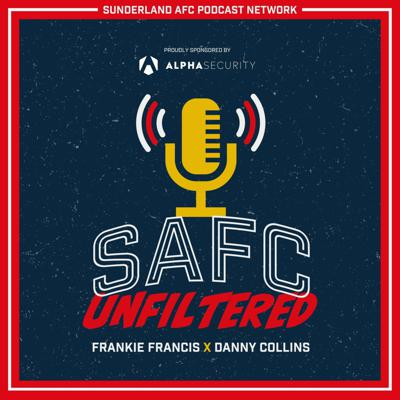 SAFC Unfiltered is the official podcast of Sunderland AFC, hosted by Frankie Francis and Danny Collins. The duo will be joined by special guests each week from players and staff to club legends.