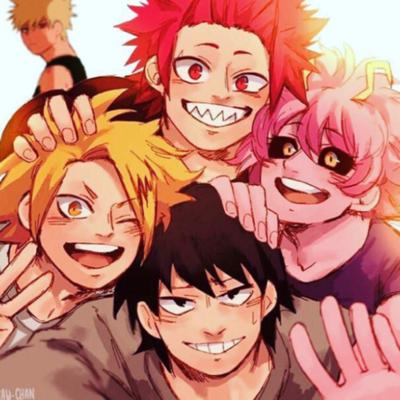 Just chilling with the Bakusquad