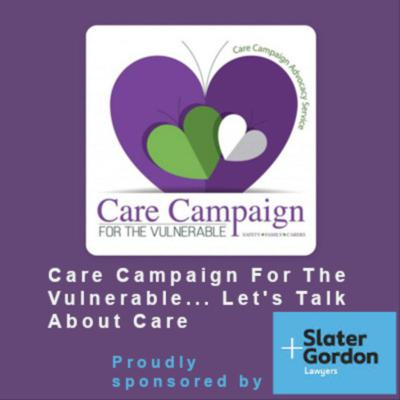 Care Campaign For The Vulnerable.. Let's Talk About... Elderly Care