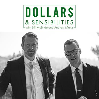 """Andrew """"Money"""" Martz and """"Dollar"""" Bill McBride discuss the numbers, concepts, and behaviors that shape your financial life. As financial advisors in Hollywood, California they helped thousands of individuals and businesses better their financial futures. Now they want to open these discussions to you the listener and share the many things they have learned and of course, how to be sensible about your dollars!  Securities and Advisory services offered through Western International Securities, Inc.("""