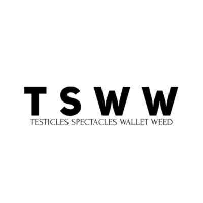 Testicles spectacles Wallet & weed