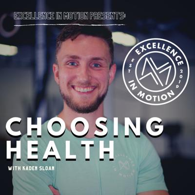 Health matters. Health keeps us vibrant, active, engaged and lively. It is a choice. Making the choice day after day can be difficult sometimes! That's why I started this podcast.  As a Student Physical Therapist, Athletic Trainer and Coach, I recognize the various arenas involved in cultivating a healthy lifestyle and I want to uncover these choices alongside you! Come and enjoy the ride!