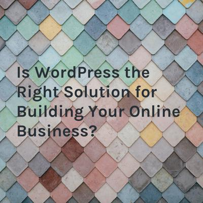 When it comes to creating a profitable online business, there are many options to consider. But is WordPress the right way to go? Support this podcast: https://anchor.fm/asu12345678901234567890/support