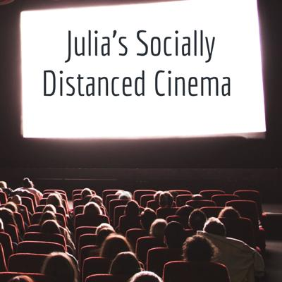 """Welcome!  I'm just gonna cut to the chase— 2020 sucks. I miss my friends, I miss the movies, and I miss creating. So I thought, SOMETHING good has to come out of this year and I decided to combine all of the things I've been longing for to create Julia's Socially Distanced Cinema.  Chris Reddis, an SNL comedian, once told me I have """"the greatest energy of all time"""" and I really wanted to use that to create a community of aspiring actors just like me, along with other film lovers and theatre goers so we could have a safe space to relax and unwind. Go ahead, take your shoes off and stay a while."""