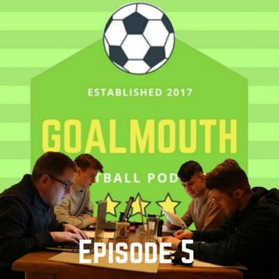 Cover art for Goalmouth Episode 5 - Should Bradley Leave Rovers? Wesso Leaves Norwich, Salah for Ballon d'Or.