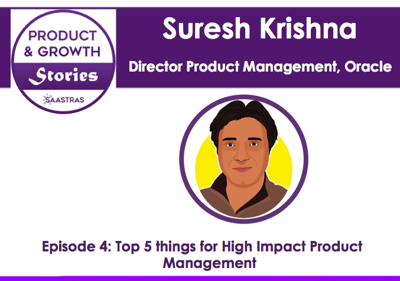 Cover art for 5: Top 5 things for High Impact Product Management