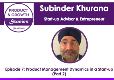 Cover art for 7: Product Management Dynamics in a Start-up (Part 2)