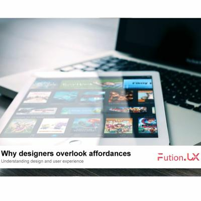 Cover art for Why designers overlook affordances