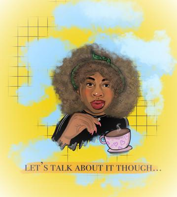 Cover art for Let's Talk About It Though... Insecure SZN 4 EP.4