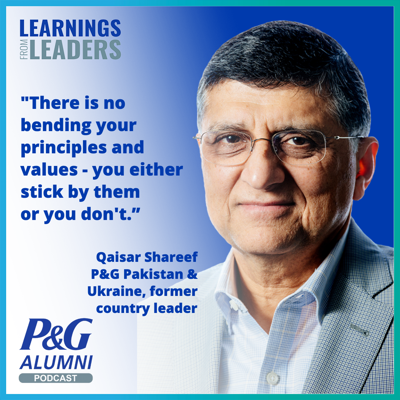 Learnings from Leaders: the P&G Alumni Podcast
