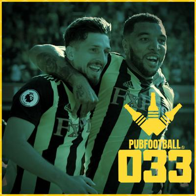 Cover art for 033: Pogba the prancing prick, Deeney glows and West Ham woes
