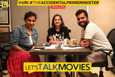 Cover art for 41: Let's Talk Movies | Uri, The Accidental Prime Minister | Anupama Chopra, Rahul Desai, Sucharita Tyagi