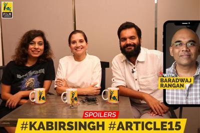 Cover art for 46: Kabir Singh, Article 15 Review | Spoilers | Let's Talk Movies