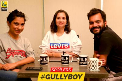 Cover art for 43: Let's Talk Movies | Gully Boy | Film Companion