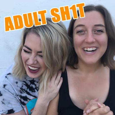 Cover art for PANIC ATTACKS & TELLING SOMEONE ABOUT YOUR MENTAL ILLNESS // ADULT SH1T // EP. 22