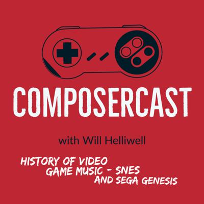 Cover art for ComposerCast 022 | History Of Video Game Music - SNES and SEGA Genesis