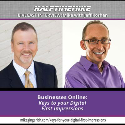 Halftime Mike - The Mike Gingerich Podcast on Business, Leadership & Life