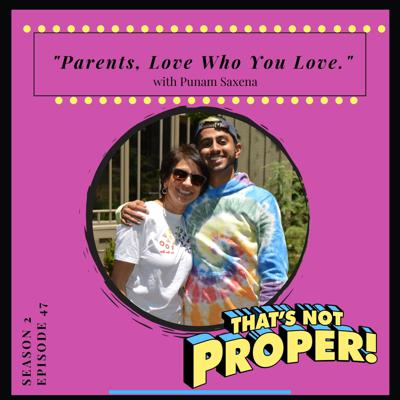 Cover art for Parents, Love Who You Love.