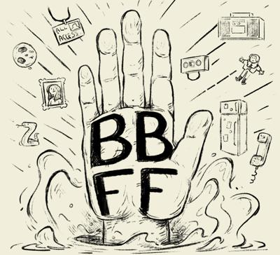 Cover art for BBFF Pod 307: Everything is Benevolent Ghosts
