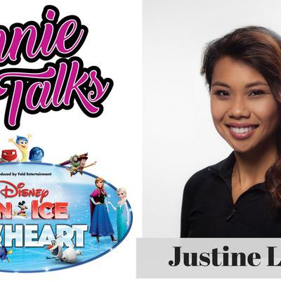 Cover art for Episode 6 - Annie Talks with Disney On Ice Skater Justine Lopez