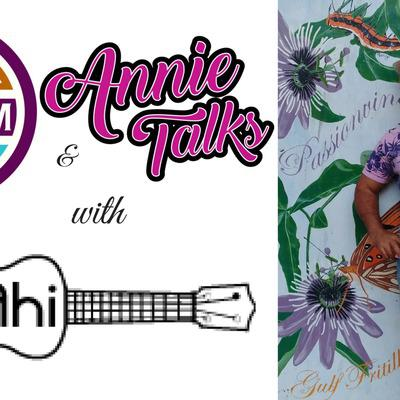 Cover art for Episode 8 - SIN and Annie Talks with Hawaiian Singer/Songwriter Keahi