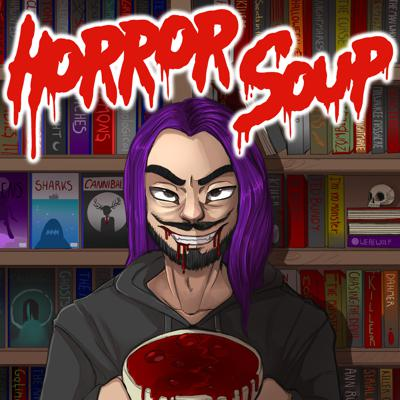 You've arrived at your destination.  Some moron known as Caleb is your tour guide on this mediocre venture to rag on the horror world.  I make sure to steer off topic as often as possible for your listening pleasures.  Welcome to Horror Soup nerd.