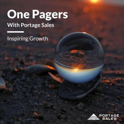 One Pagers with Portage Sales
