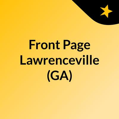 Front Page Lawrenceville (GA)