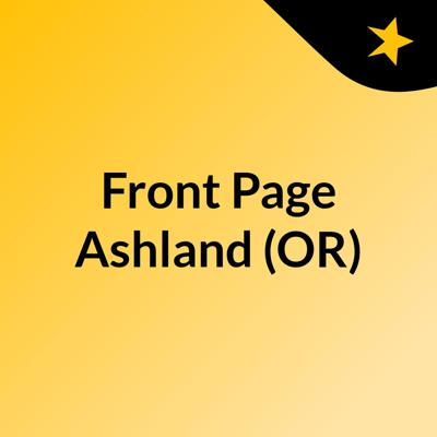 Front Page Ashland (OR)
