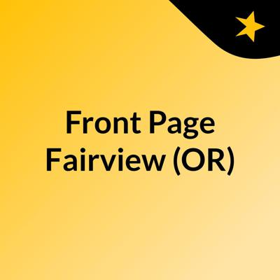 Front Page Fairview (OR)