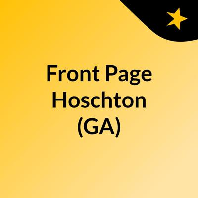 Front Page Hoschton (GA)