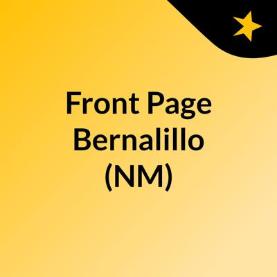 Front Page Bernalillo (NM)