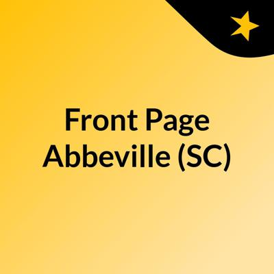 Front Page Abbeville (SC)