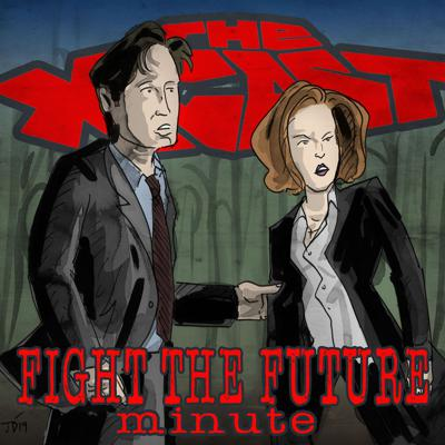Cover art for 397. Fight the Future Minute #18: Scully Shows Who's Boss
