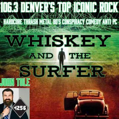 WHISKEY AND THE SURFER Whiskey and the Surfer is the morning radio show you always wished they'd play on the radio. Equal parts rocking good time and laid back hilarity, hosts Whiskey and The Surfer (Wes Key and Fliip Riivers) jam tunes and riff on the topics of today, like alternative realities, simulation theory, Faith, conspiracy, demons, Fake News and movies they will never see. Wes Key (Whiskey) is the cool-headed, socially liberal, married, sober, loveable, optimist who loves rock and Fliip (The Surfer) is the immature, brash, Libertarian, tin foil hat wearing, party aficionado and knower of all things metal. johntole.net whiskeyandthesurfer.com