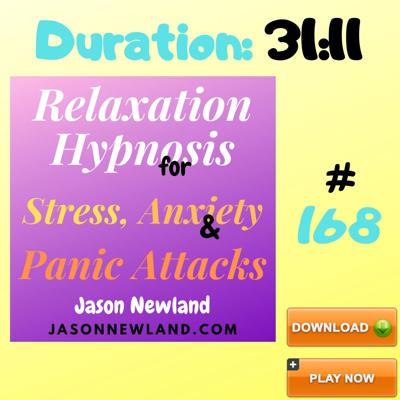 Cover art for #168 Relaxation Hypnosis for Stress, Anxiety & Panic Attacks -