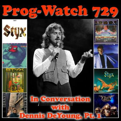 Cover art for Episode 729 - In Conversation with Dennis DeYoung, Pt. 1