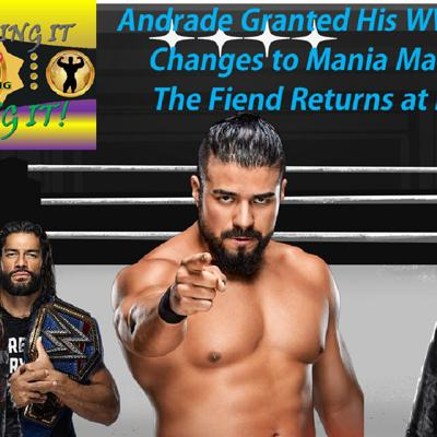 Cover art for Andrade Released - Mania Main Event Changing?