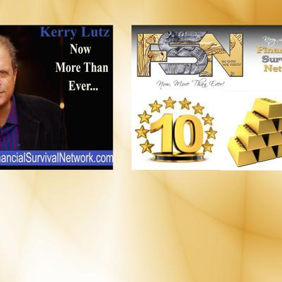 Cover art for Financial Survival Network's 10 Anniversary - Triple Lutz Report #487