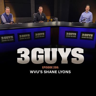 Cover art for WVU's Shane Lyons with Tony Caridi and Brad Howe
