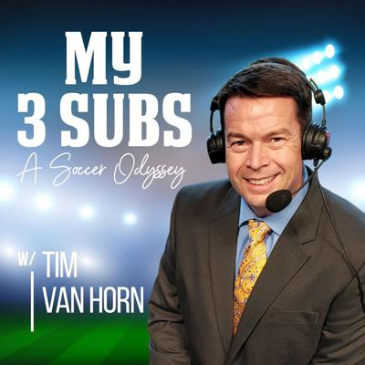 From Pitch to the Center Circle Studio Tim Van Horn goes studs up into the soccer world where no one is safe. This is My 3 Subs Podcast, A Soccer odyssey, with your manager, Tim Van Horn You can get in on the action! Follow us on social media @My3SubsPodcast and check out more at My3SubsPodcast.com
