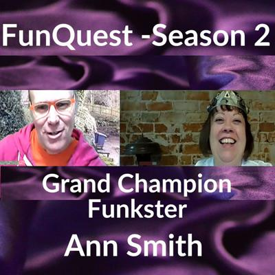 Cover art for FunkQuest - Season 2 - Ann Smith- Crowning victory episode