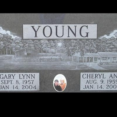 Cover art for Gary and Cheryl Young