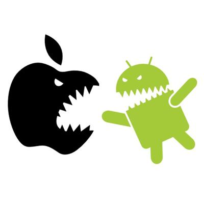 Cover art for Apple iOS vs Google's Android -- Which is Better?