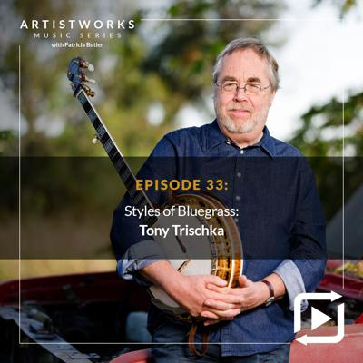 Cover art for Styles of Bluegrass: Tony Trischka