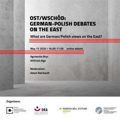Cover art for Debate: What are Polish / German views on the East?