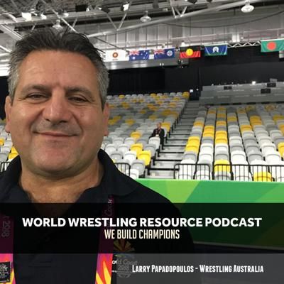 Cover art for WWR60: Wrestling Australia's Larry Papadopoulos breaks down the sport Down Under